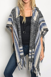 Luxmi Cardigan Poncho - Product Mini Image