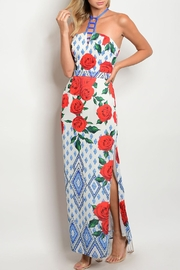 Luxmi Royal Rose Dress - Front cropped