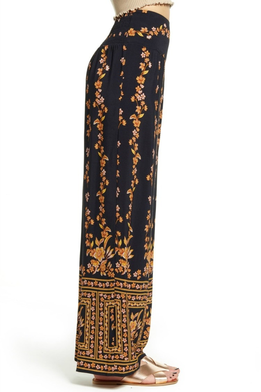 Band Of Gypsies LUXOR PANT - Side Cropped Image