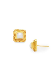 The Birds Nest LUXOR STUDS-MOTHER OF PEARL - Product Mini Image