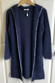 Bedford Basket Luxurious Fuzzy Cardigan - Product Mini Image