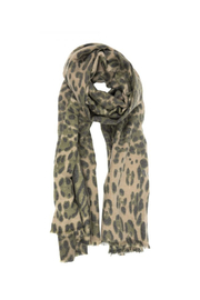 Joy Accessories Luxurious Leopard Scarf - Front cropped