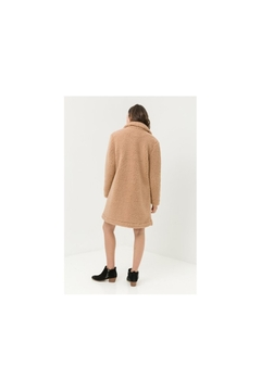Back in Love Luxurious tan faux Shearling coat - Alternate List Image