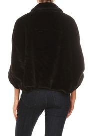 OC Avenue Luxury Short Fur-Coat - Back cropped