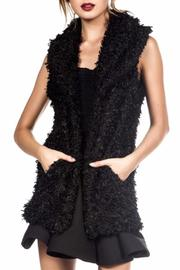 luxxel Black Sweater Vest - Product Mini Image