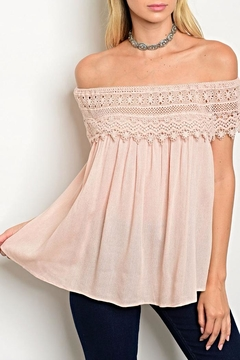 Shoptiques Product: Blush Crochet Blouse