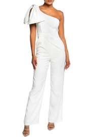 luxxel Bow Accent Jumpsuit - Product Mini Image