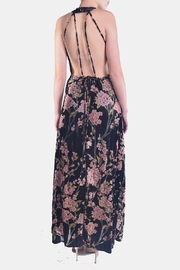 luxxel Cherry Blossom Dress - Back cropped