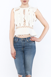 luxxel Circle Crop Top - Product Mini Image