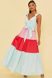 luxxel Colorblock Tiered Maxi - Product Mini Image