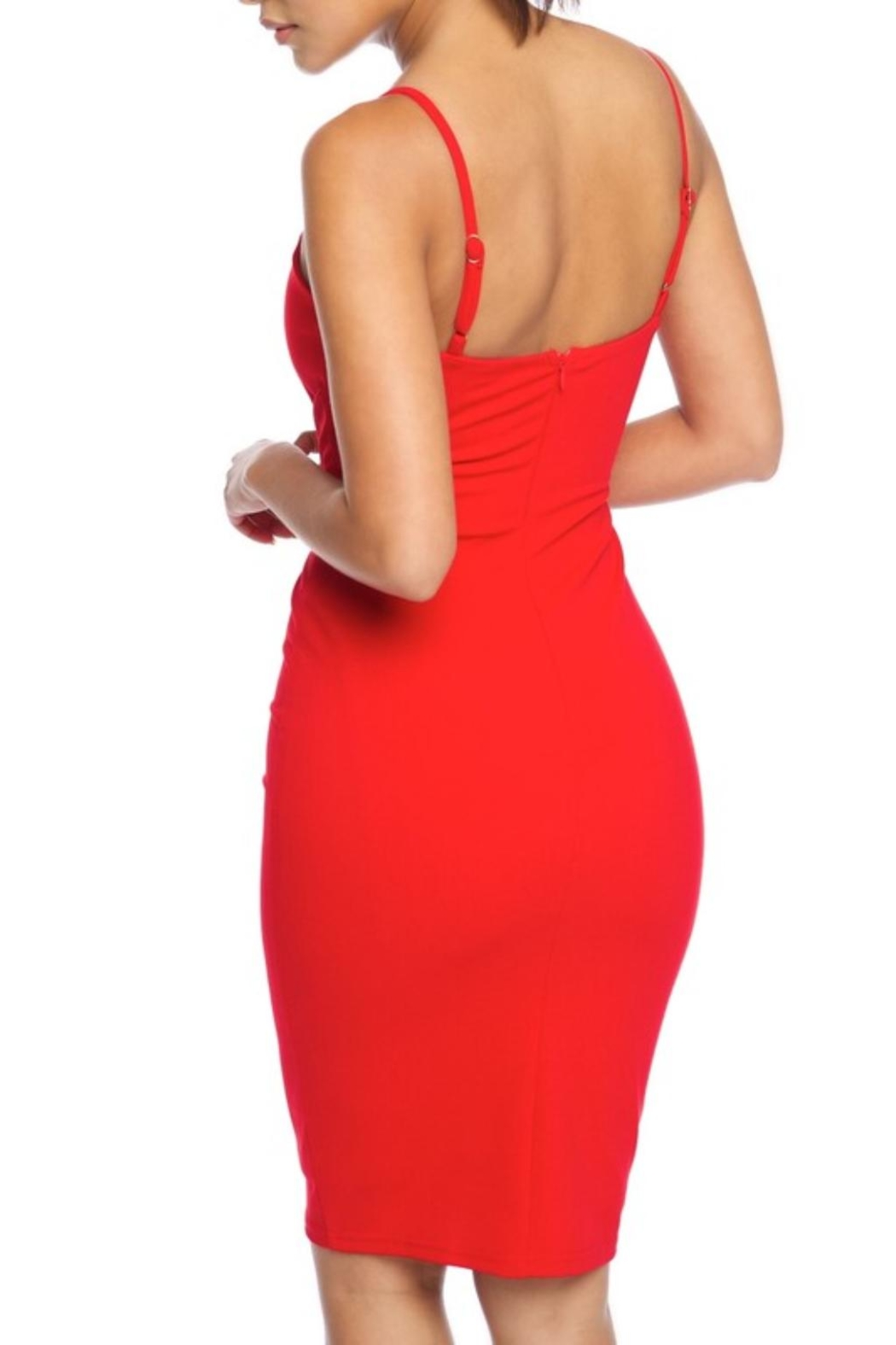 luxxel Corset Dress - Front Full Image