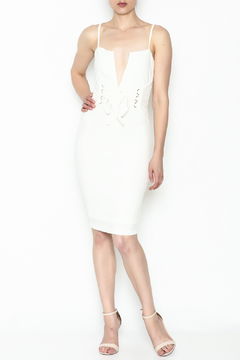 Shoptiques Product: White Corset Dress