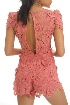 luxxel Crochet Romper - Alternate List Image