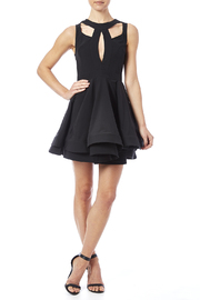 luxxel Cutout Flare Dress - Front full body