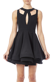 luxxel Cutout Flare Dress - Side cropped