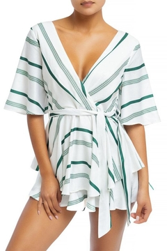 luxxel Dolman Sleeve Romper - Product List Image