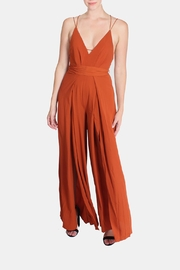 luxxel Dragonfly Open Leg Jumpsuit - Product Mini Image