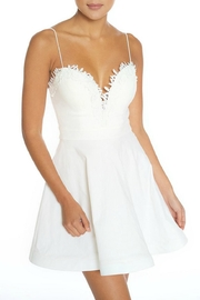 luxxel Sweetheart White Dress - Front cropped