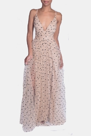 luxxel Enchantress Polka Dotted Gown - Front cropped