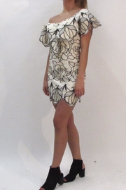 luxxel Floral Crochet Dress - Front full body