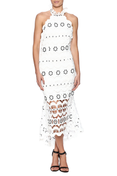 Shoptiques Product: Floral Crochet Midi Dress