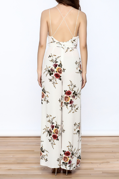 Shoptiques Product: Romantic Sleeveless Jumpsuit