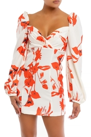 luxxel Floral Mini Dress - Product Mini Image