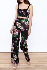luxxel Black Floral Matching Set - Product Mini Image
