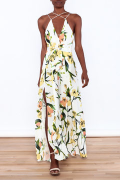 Shoptiques Product: Floral Stem Jumpsuit