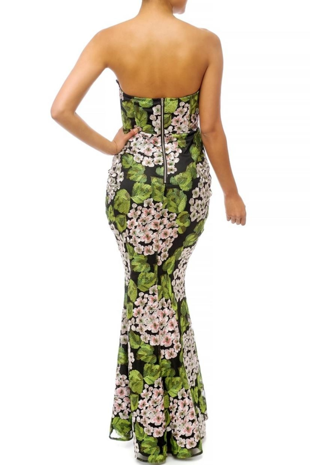 luxxel Garden Floral Maxi - Front Full Image