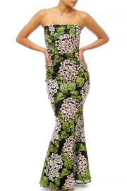 luxxel Garden Floral Maxi - Front cropped