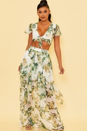luxxel Garden Skirt Set - Front cropped