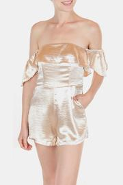luxxel Glam Satin Romper - Product Mini Image