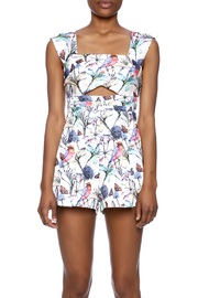 luxxel Justina Floral Romper - Side cropped