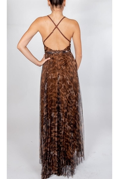 luxxel Leopard Glam Gown - Alternate List Image