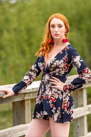 luxxel Luxxel Floral Romper - Product Mini Image