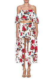 luxxel Rose Printed Matching Set - Front cropped