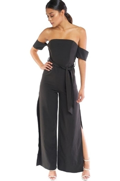 Shoptiques Product: Off Shoulder Jumpsuit
