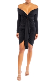 luxxel Off-Shoulder Mini Dress - Front cropped