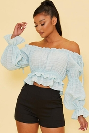 luxxel Off Shoulder Top - Product Mini Image