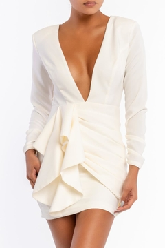 luxxel Open Back Dress - Product List Image