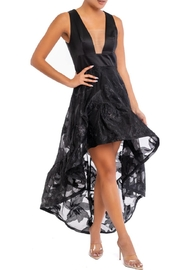 luxxel Organza-Floral Hi-Low Dress - Product Mini Image