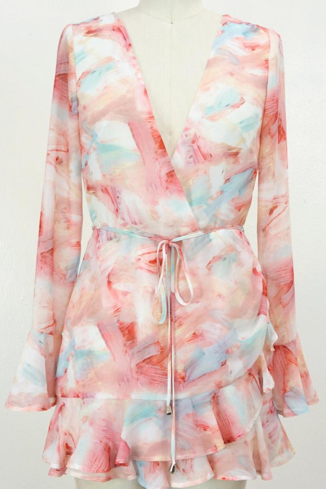 luxxel Pastel Dreams Romper - Front Cropped Image