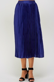 luxxel Pleated Midi Skirt - Product Mini Image