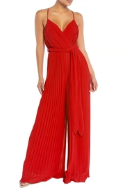 luxxel Pleated Wide-Pants Jumpsuit - Product Mini Image