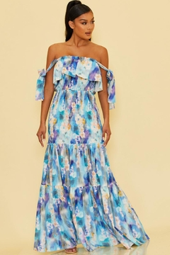 luxxel Printed Scrunch Maxi - Product List Image