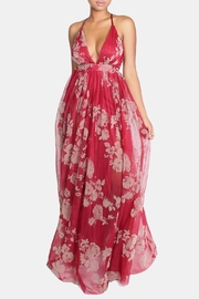 luxxel Red Floral Maxi Dress - Product Mini Image