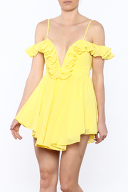 Shoptiques Product: Yellow Mini Dress