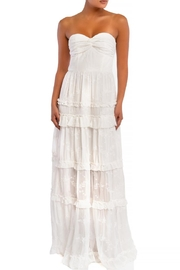 luxxel Ruffle Tiered Maxi - Front cropped