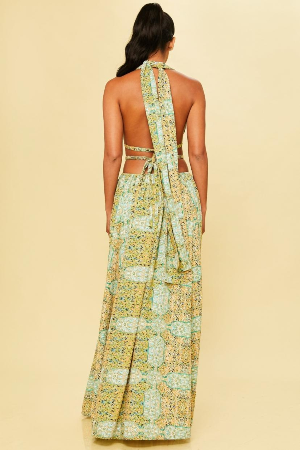 luxxel Runway Resort Maxi - Front Full Image